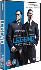 christmas list dvd legend dvd co uk tom hardy emily browning dvd