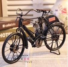 fast free shipping european style iron vintage bike new home