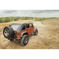 jeep wrangler rugged ridge 13750 38 bowless soft top black diamond 07 16 jeep