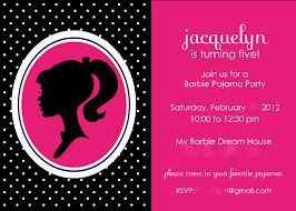 barbie party invitations lilbibby com