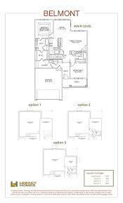 multiple family home plans belmont floor plan legacy homes omaha and lincoln