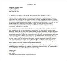 collection of solutions letter of recommendation sample pdf for