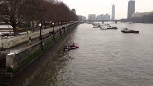 thames barrier failure suicide fail man jumps into below freezing river thames youtube