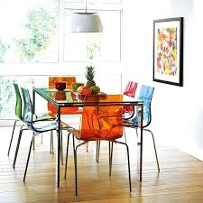 Perspex Dining Chairs Plexiglass Dining Chairs Visualnode Info