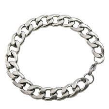 bracelet silver price images Buy rich famous stainless steel silver bracelet for men jpg
