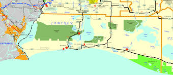 Florida Intracoastal Waterway Map by Cameron Parish Center For Louisiana Studies