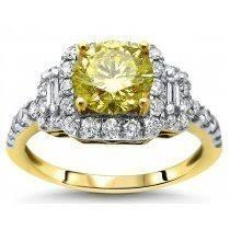 canary engagement ring buy canary yellow engagement rings shop now and save