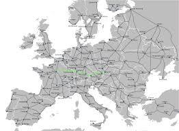Italy Train Map Rail Europe Train Map Italy My Blog
