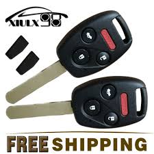 honda accord keyless entry 2x car keyless entryremote key replacement fob with us chip for