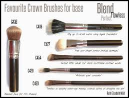 ruth elizabeth crown brushes best makeup brushes in the