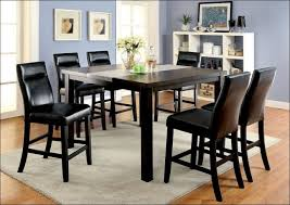 Kitchen  Kitchen Table Tall Table And Chairs High Dining Table - Black kitchen table