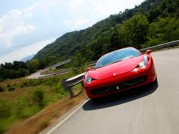 disney cars ferrari 2010 ferrari 458 italia winding road 1920x1440 wallpaper