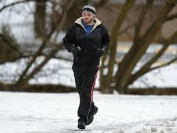 winter jogging breaks the trend outdoors cumberlink com