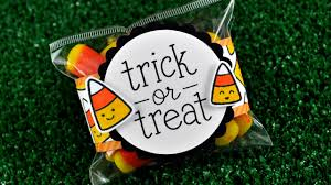 intro to trick or treat a treat bag from start to finish youtube
