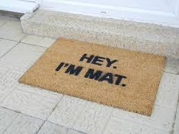 Coir Doormat Wipe Your Paws Ckb Ltd Hey I U0027m Mat Funny Doormat Coir Doormats