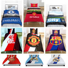 Barcelona Bedroom Set Value City Official Football Club Duvet Cover Sets Chelsea Manchester