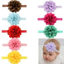baby hair band new 2015 fashion baby headbands big flower lace elastic baby hair