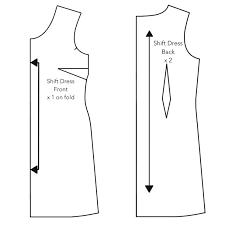 pattern a line shift dress orla shift dress drafting tutorial an orla affair anna zoe