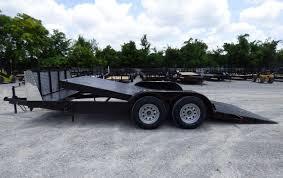 Utility Bed Trailer Utility Trailer 7 U0027x18 U0027 Tilt Bed Steel Car Hauler W Guard Sle