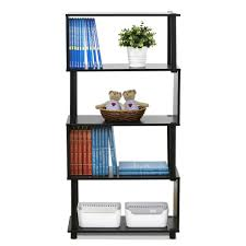 alaterre furniture mission espresso open bookcase amia14p0 the
