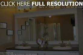 framed bathroom mirrors large framed bathroom mirrors designs