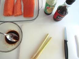 cuisiner citronnelle saumon au gingembre et citronnelle savormania