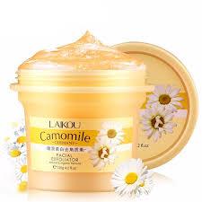 Scrub Gel camomile gel scrub organicbeautyzone