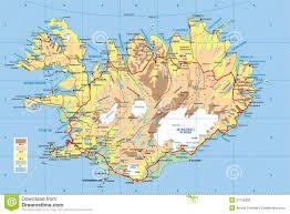 Iceland Map World Iceland Map Royalty Free Stock Photo Image 27756385