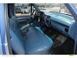 Ford F250 Interior Blue Interior 1996 Ford F250 Xl Extended Cab Photo 50306838