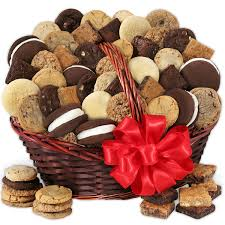 Gift Baskets Baked Goods Deluxe Gift Basket By Cheesecake Com