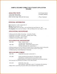 example of simple resume format cover letter resume format sample free resume sample format uh cover letter basic resume format example of simple sample for studentsresume format sample large size