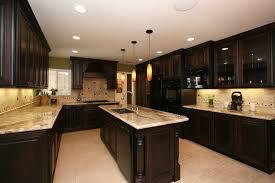 dark wood kitchen cabinets elegant dark wood kitchen cabinets with dark countertops home design