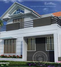 Two Story House Plans With Balconies Modern House Plans Balcony