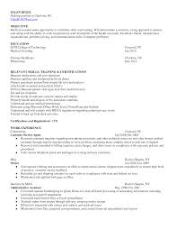 list of skills for resume receptionist with no experience objective for medical resume exles billing and coding field