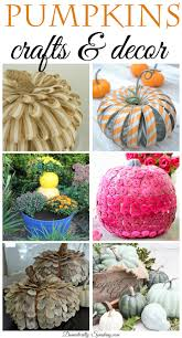 pumpkins crafts and home decor domestically speaking pumpkins crafts and decor idea for your home