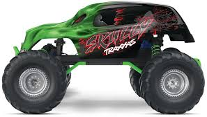 monster truck show dc amazon com traxxas skully 1 10 scale monster truck with tq 2 4ghz
