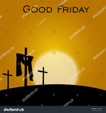 good friday background concept illustration jesus stock vector