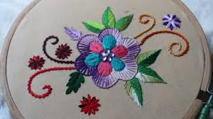 design embroidery hand embroidery designs basic design tutorial stitch and flower