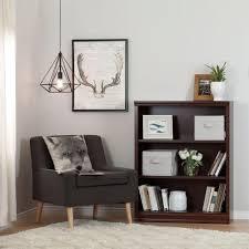 south shore morgan royal cherry storage open bookcase 100115 the
