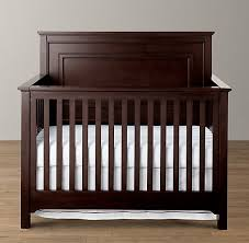 restoration hardware marlowe conversion crib converts to a