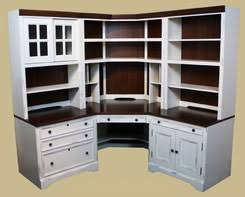 Corner Home Office Desks American Home Office Collection