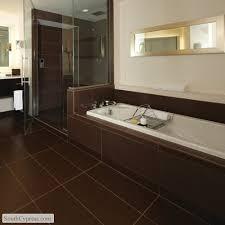 brown bathroom ideas chocolate brown bathroom tiles on interior home paint color