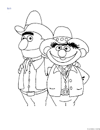 sesame street coloring pages tv amp films coloringarena number 3
