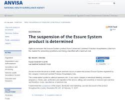 www google commed brazil stops sale of essure pointing to numerous side effects snlg