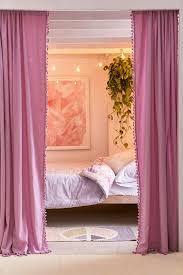 palma fringe light blocking window curtain urban outfitters