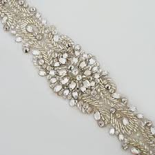 bridal belt fiore couture bridal belts beaded bridal belt with iridescent stones