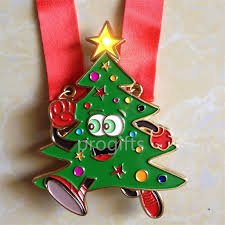 christmas tree xmas tree gold plated colors painted zinc alloy