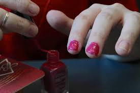 terrible at painting your nails be your sloppy self with this