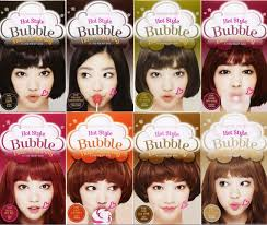 etude house style bubble hair coloring shampoo in natural