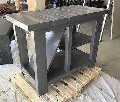 diy rustic side table with free plans tamara u0027s joy